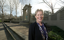 Susan Terrill, the new executive director of the Piedmont Education Foundation, poses for a photograph in Piedmont, Calif., Tuesday, Jan. 26, 2016. (D. Ross Cameron/Bay Area News Group)