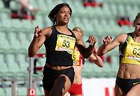 Friidrett , 15. juni 2007 , Golden League Bislett Games , <br /> Crystal COX , USA 100 meter