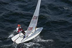 Day 4 NeilPryde Laser National Championships 2014 held at Largs Sailing Club, Scotland from the 10th-17th August.<br /> <br /> 201664, Alexander ORR<br /> <br /> Image Credit Marc Turner