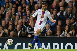 18.09.2013, Stamford Bridge, London, ENG, UEFA Champions League, FC Chelsea vs FC Basel, Gruppe E, im Bild Basel's Behrang Safari  during UEFA Champions League group E match between FC Chelsea and FC Basel at the Stamford Bridge, London, United Kingdom on 2013/09/18. EXPA Pictures © 2013, PhotoCredit: EXPA/ Mitchell Gunn <br /> <br /> ***** ATTENTION - OUT OF GBR *****
