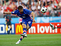 GEPA-0806086885 - WIEN,AUSTRIA,08.JUN.08 - FUSSBALL - UEFA Europameisterschaft, EURO 2008, Oesterreich vs Kroatien, AUT vs CRO. Bild zeigt Niko Kranjcar (CRO).<br />Foto: GEPA pictures/ Felix Roittner