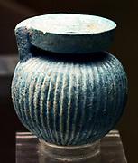 Greek Perfume bottle. From Aryballos, 550-500 BC.
