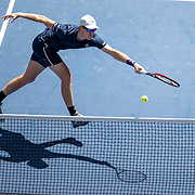 2019 US Open Tennis Tournament- Day Thirteen.     and Jamie Murray of Great Britain in action along with partner Bethanie Mattek-Sands of the United States during their win against Hao-Ching Chan of Taiwan and Michael Venus of New Zealand in the Mixed Doubles Final on Arthur Ashe Stadium during the 2019 US Open Tennis Tournament at the USTA Billie Jean King National Tennis Center on September 7th, 2019 in Flushing, Queens, New York City.  (Photo by Tim Clayton/Corbis via Getty Images)