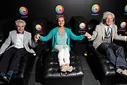 Perspresentatie MindSpa in de Zwaluwhoeve, Hierden<br /> <br /> Op de foto:  Jacques d' Ancona, Mariska van Kolck en Peter Strykes in de MiondSpa