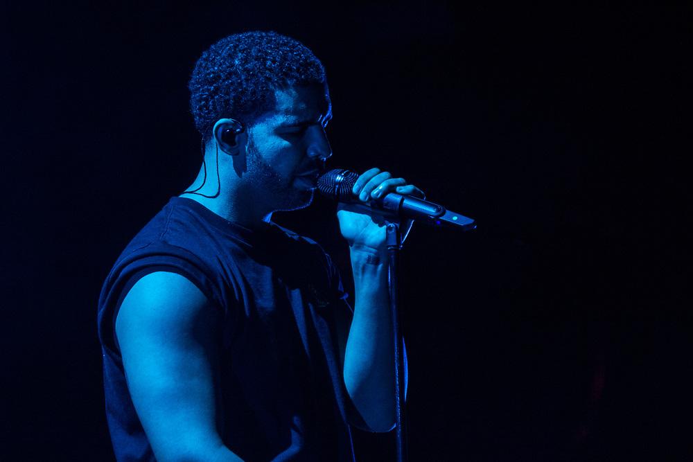 Drake headlines Coachella on April 12, 2015.