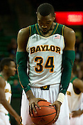WACO, TX - DECEMBER 18: Cory Jefferson #34 of the Baylor Bears shoots a free-throw against the Northwestern State Demons on December 18 at the Ferrell Center in Waco, Texas.  (Photo by Cooper Neill) *** Local Caption *** Cory Jefferson