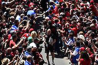 Arrivee Equipe Toulon - Pierre Mignoni - 09.05.2015 - Toulon / Castres - 24eme journee de Top 14 <br /> Photo : Alexandre Dimou / Icon Sport