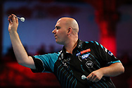 Rob Cross during the BetVictor World Matchplay at Winter Gardens, Blackpool, United Kingdom on 22 July 2018. Picture by Chris Sargeant.