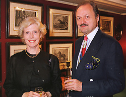 MR & MRS PETER BOWLES, he is the actor at a gala evening in London on 9th June 1999.MSZ 62