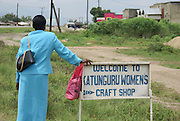 Uganda, Lake Edward, Craft Shop