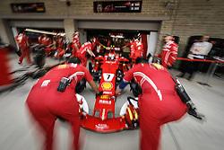 October 20, 2017 - Austin, United States of America - Motorsports: FIA Formula One World Championship 2017, Grand Prix of United States, ..#7 Kimi Raikkonen (FIN, Scuderia Ferrari) (Credit Image: © Hoch Zwei via ZUMA Wire)