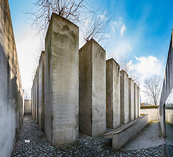 Garden of Exile at Jewish Museum , in Berlin, Germany