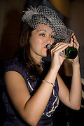 STEPHANIE VON BULOW, Visa Swap launch party. No1 The Piazza. Covent Garden. London. 16 July 2008.  *** Local Caption *** -DO NOT ARCHIVE-© Copyright Photograph by Dafydd Jones. 248 Clapham Rd. London SW9 0PZ. Tel 0207 820 0771. www.dafjones.com.