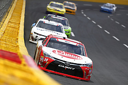 May 26, 2018 - Concord, North Carolina, United States of America - Christopher Bell (20) brings his car through the turns during the Alsco 300 at Charlotte Motor Speedway in Concord, North Carolina. (Credit Image: © Chris Owens Asp Inc/ASP via ZUMA Wire)