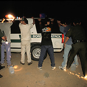 Undocumented immigrants arrested by US Border Patrol in Yuma, Arizona. Please contact Todd Bigelow directly with your licensing requests.