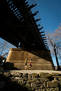 The 52nd Annual JFK 50 Mile Ultramarathon held on November 22. 2014. The country's oldest ultra starts in Boonsboro, MD and finishes in Williamsport, MD traversing the Appalachian Trail and C&O Canal. Passing Harpers Ferry on the C&O Canal.