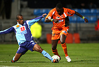 FOOTBALL - FRENCH CHAMPIONSHIP 2009/2010  - L2 - LE HAVRE AC v STADE LAVALLOIS - 16/10/2009 - <br /> <br />  FABRICE DO MARCOLINO (LA)<br /> <br /> Norway only