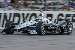June 9, 2018 - Fort Worth, Texas, U.S - Ryan Briscoe (2) driver of the Hitachi Team Penske car in action during the DXC Technology 600 race at Texas Motor Speedway in Fort Worth,Texas. (Credit Image: © Dan Wozniak via ZUMA Wire)