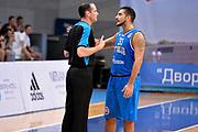 DESCRIZIONE : Mosca Moscow Qualificazione Eurobasket 2015 Qualifying Round Eurobasket 2015 Russia Italia Russia Italy<br /> GIOCATORE : Pietro Aradori Arbitro Referee<br /> CATEGORIA : Referee Arbitro Delusione<br /> EVENTO : Mosca Moscow Qualificazione Eurobasket 2015 Qualifying Round Eurobasket 2015 Russia Italia Russia Italy<br /> GARA : Russia Italia Russia Italy<br /> DATA : 13/08/2014<br /> SPORT : Pallacanestro<br /> AUTORE : Agenzia Ciamillo-Castoria/GiulioCiamillo<br /> Galleria: Fip Nazionali 2014<br /> Fotonotizia: Mosca Moscow Qualificazione Eurobasket 2015 Qualifying Round Eurobasket 2015 Russia Italia Russia Italy<br /> Predefinita :