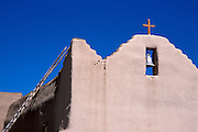 The Church of San Lorenzo, Picuris Pueblo, New Mexico