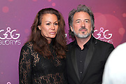 Karina Berger mit ihrem Mann Thomas Russenberger anlässlich der Glory-Verleihung 2018 am 12. Januar 2019 im Aura Club Zürich