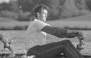 Nottingham. United Kingdom. <br /> Andy HOLMES.<br /> Nottingham International Regatta, National Water Sport Centre, Holme Pierrepont. England<br /> <br /> 31.05.1986 to 01.06.1986<br /> <br /> [Mandatory Credit: Peter SPURRIER/Intersport images] 1986 Nottingham International Regatta, Nottingham. UK