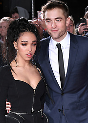 Robert Pattinson and girlfriend FKA Twigs arriving at the UK Premiere of Lost City of Z, The British Museim, London.