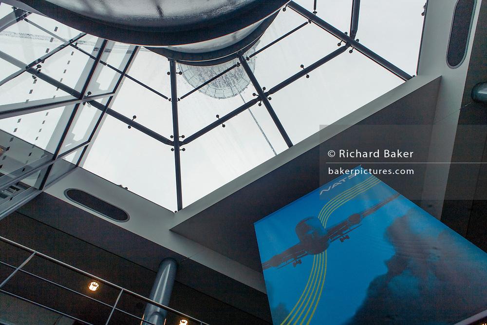 Heathrow airport's NATS Air Traffic Control tower, London, England.