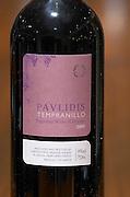 Tempranillo. Ktima Pavlidis Winery, Drama, Macedonia, Greece