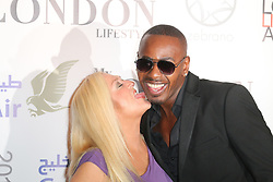 Vanessa Feltz; Ben Ofoedu, London Lifestyle Awards, The Troxy, London UK, 23 October 2013, Photo by Richard Goldschmidt © Licensed to London News Pictures.23/10/13 . Photo credit : Richard Goldschmidt/Piqtured/LNP