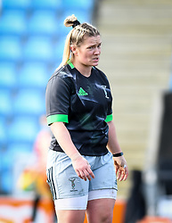 Rachael Burford of Harlequins warms up before the game - Mandatory by-line: Andy Watts/JMP - 06/02/2021 - Sandy Park - Exeter, England - Exeter Chiefs Women v Harlequins Women - Allianz Premier 15s