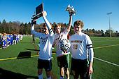 Vermont State DII Boys Soccer Championship - Burr and Burton vs. U-32 11/05/11