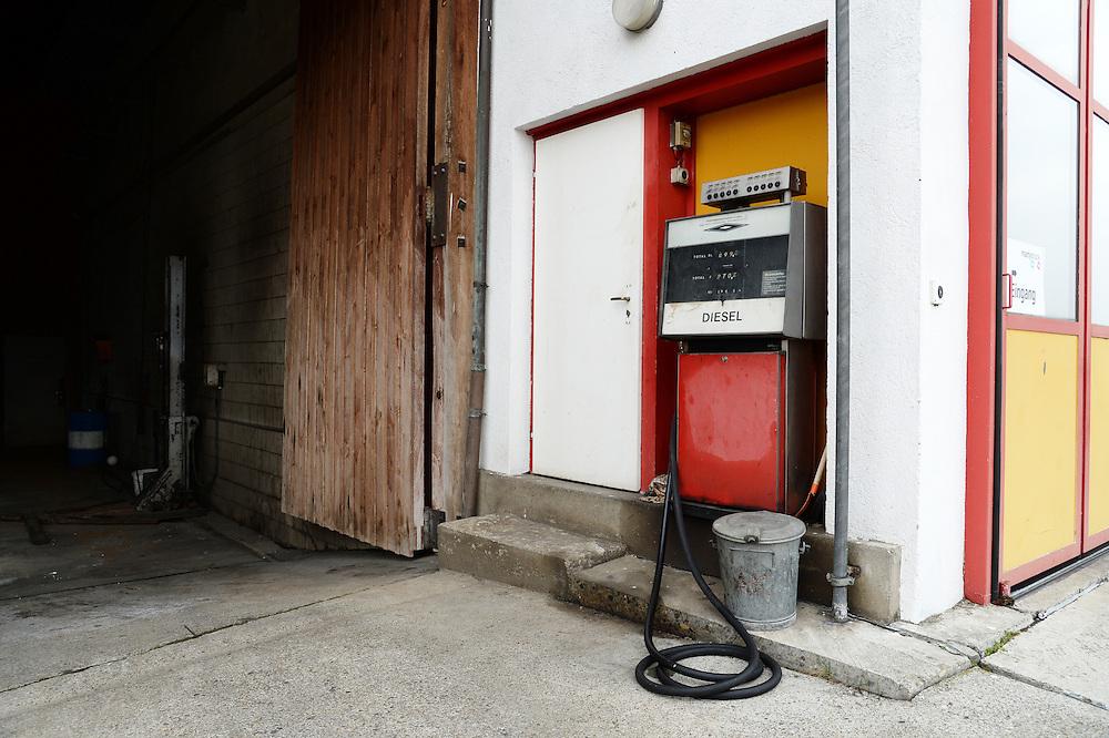 28.02.2016; Tagelswangen; Tankstelle an der Chlotengasse<br /> (Steffen Schmidt)