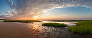 A calm summer sunset at Mant's Landing in Brewster