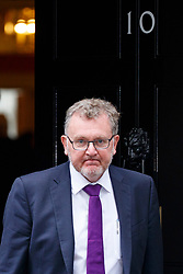 © Licensed to London News Pictures. 11/07/2017. London, UK. Scottish Secretary DAVID MUNDELL leaves after a cabinet meeting in Downing Street, London on Tuesday, 11 July 2017. Photo credit: Tolga Akmen/LNP