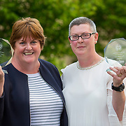 23.05.2018.       <br /> Today, the Institute of Community Health Nursing (ICHN) hosted its2018 community nurseawards in association withHome Instead Senior Care,at its annual nursing conference, in the Strand Hotel Limerick, rewarding public health nurses for their dedication to community care across the country. <br /> <br /> Pictured are, ICHN Nurse Awards Joint Award Winners - Teresa O Dowd Registered General Nurse Lucan Health Centre Dublin and Anne Marie Kelly CNS Continence Promotion Unit Dr Stevens Hospital Dublin. Picture: Alan Place
