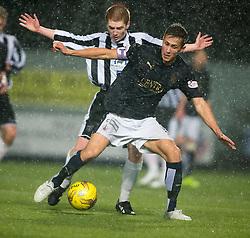 Fraserburgh's John Chalmers and Falkirk's Will Vaulks. <br /> Falkirk 4 v 1 Fraserburgh, Scottish Cup third round, played 28/11/2015 at The Falkirk Stadium.