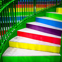 London Stares At Stairs