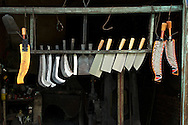 This blacksmith shop is one of Taiwan's last remaing traditional metal shops.