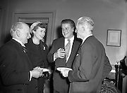 ASPRO Luxembourg Radio Programme 'What's my Line' Panel in Ireland.31/01//1955