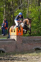 Van Asselberghs Philippe, BEL, Esprit<br /> Nationale LRV-Eventingkampioenschap Minderhout 2017<br /> © Hippo Foto - Kris Van Steen<br /> 30/04/17