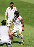 Photo: Chris Ratcliffe.<br /> England Training Session. FIFA World Cup 2006. 24/06/2006.<br /> Jamie Carragher who is replaces by Owen Hargreaves for the match.