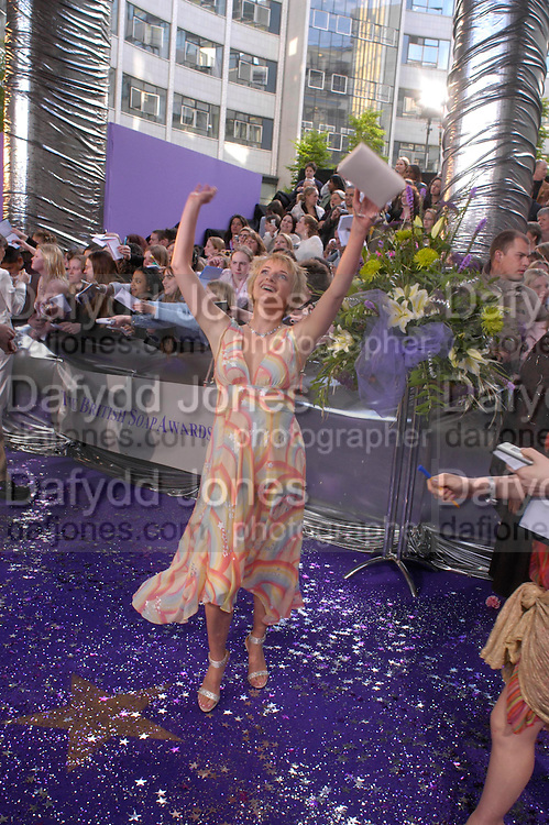 The 2005 British Soap Awards, BBC TV Studios. London. May 7 2005. ONE TIME USE ONLY - DO NOT ARCHIVE  © Copyright Photograph by Dafydd Jones 66 Stockwell Park Rd. London SW9 0DA Tel 020 7733 0108 www.dafjones.com