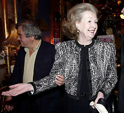01/04/2003<br /> 'The Party Bible' Book Party at Sarastro Resturant, Drury Lane<br /> Countess Raine Spencer; 1/4/2003<br /> Book Launch party  for her 'The Party Bible' at Sarastro Resturant in Drury Lane.<br /> Countess Raine Spencer