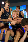 Bayswater, London, Oxford University,  [Andy TRIGGS HODGE] competing during the Snowdon Rowing Challenge, on Friday   05/03/2010  at the Porchester Hall London GREAT BRITAIN.  [Mandatory Credit. Peter Spurrier/Intersport Images]