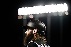 May 22, 2018 - Los Angeles, CA, U.S. - LOS ANGELES, CA - MAY 22: Colorado Rockies center fielder Charlie Blackmon (19) during a Major League Baseball game between the Colorado Rockies and the Los Angeles Dodgers on May 22, 2018 at Dodger Stadium in Los Angeles, CA. (Photo by Kyusung Gong/Icon Sportswire) (Credit Image: © Kyusung Gong/Icon SMI via ZUMA Press)