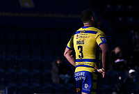 Warrington Wolves' Greg Inglis reacts<br /> <br /> Photographer Alex Dodd/CameraSport<br /> <br /> Rugby League - Betfred Challenge Cup Quarter Finals - Catalans Dragons v Warrington Wolves - Friday 7th May 2021 - Emerald Headingley Stadium - Leeds<br /> <br /> World Copyright © 2021 CameraSport. All rights reserved. 43 Linden Ave. Countesthorpe. Leicester. England. LE8 5PG - Tel: +44 (0 116 277 4147 - admin@camerasport.com - www.camerasport.com