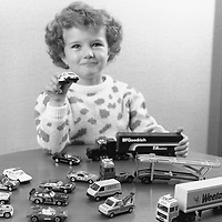 Collection of Corgi Motoring Miniatures, given away at BP filling stations over Christmas 1986