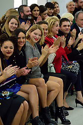 Sasha Lane, Jennifer Connelly, Lea Seydoux, Alicia Vikander, Catherine Deneuve and Xavier Dolan attending the Louis Vuitton show as a part of Paris Fashion Week Ready to Wear Spring/Summer 2017 in Paris, France on October 05, 2016. Photo by Aurore Marechal/ABACAPRESS.COM