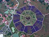 Aerial View Of Botanic Garden